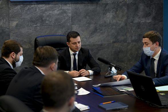 Зеленскому представили пилотный проект Национальной инфраструктуры геопространственных данных