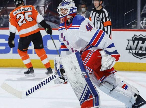 """Хоккеисты """"Рейнджерс"""" прервали серию поражений в НХЛ"""