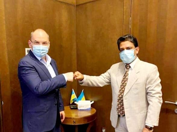 """Украина получит 500 тысяч доз """"индийской"""" противоковидной вакцины"""