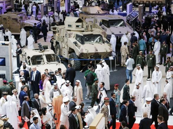 Украина представила современное вооружение на выставке IDEX-2021 в Объединенных Арабских Эмиратах