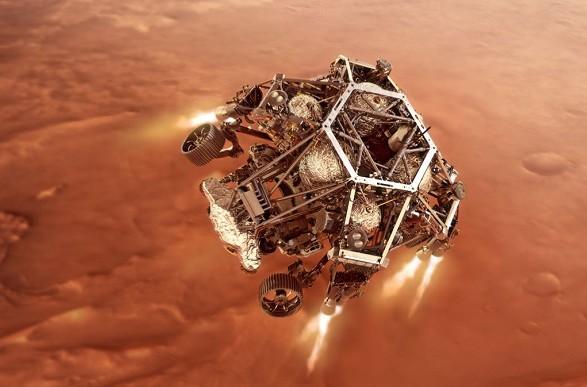 Марсоход Perseverance прислал на Землю первое видео с Марса