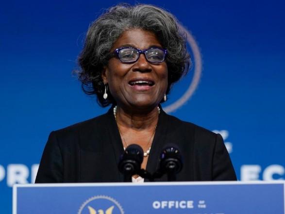 Сенат утвердил Линду Томас-Гринфилд как нового посла США в ООН