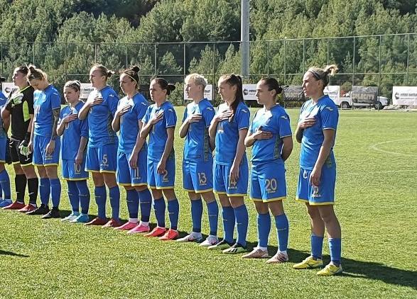 Женская сборная Украины по футболу нанесла поражение национальной команде Индии