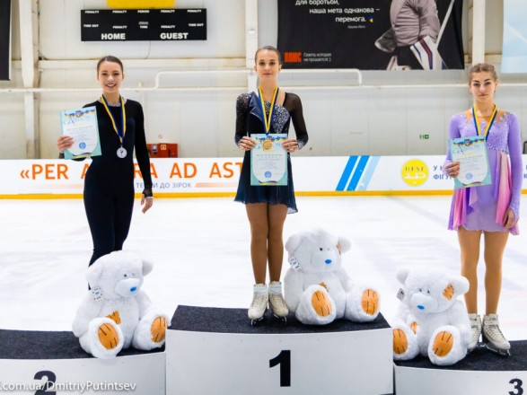 Определились чемпионы Украины по фигурному катанию