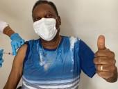 Незабутній день: триразовий чемпіон світу Пеле вакцинувався від коронавірусу