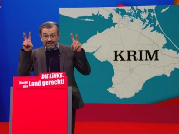 Российская оккупация Крыма дважды за полмесяца в топе популярнейшего комеди-шоу Германии - посол