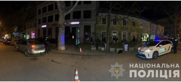 В центре Одессы произошла перестрелка, ранены трое человек