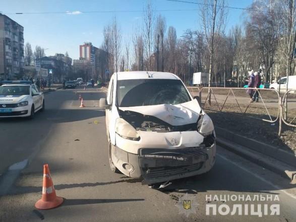 В Киеве легковушка насмерть сбила пенсионера