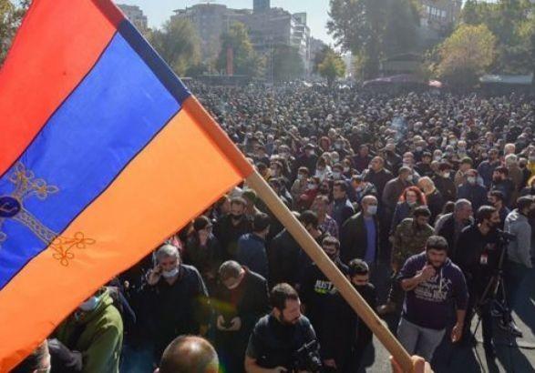 В Армении продолжаются протесты об отставке премьер-министра Пашиняна