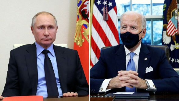 """Путин предложил Байдену дискуссию """"в прямом эфире"""""""