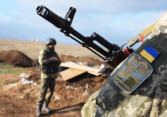 ООС: боевики восемь раз открывали огонь, один боец погиб
