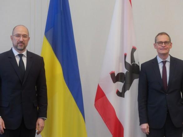Шмыгаль обсудил с бургомистром Берлина сотрудничество между столицами Украины и Германии
