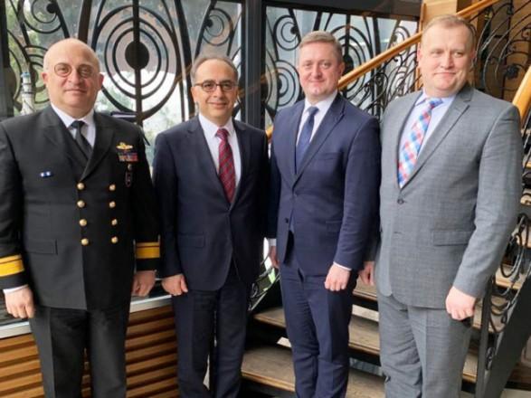 """Украина и Турция провели консультации в формате """"Квадрига"""" на уровне национальных координаторов"""