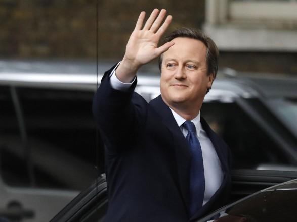СМИ: в Британии началось расследование против бывшего премьера Дэвида Кэмерона