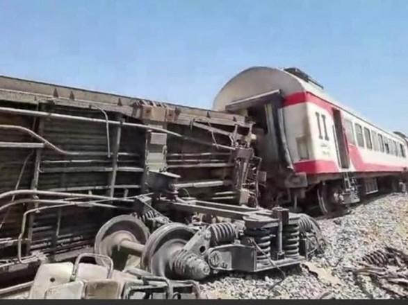 Число пострадавших в железнодорожной катастрофе в Египте возросло до 165