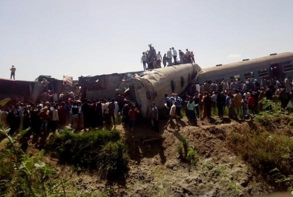 Катастрофа на железной дороге в Египте: погибших оказалось меньше