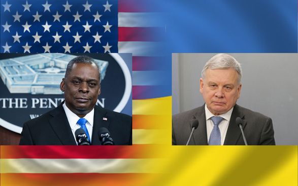 Министр обороны США заверил, что Украина не останется наедине с агрессией РФ