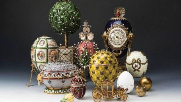 Эрмитаж признал подлинными яйца с выставки Фаберже после сомнений экспертов