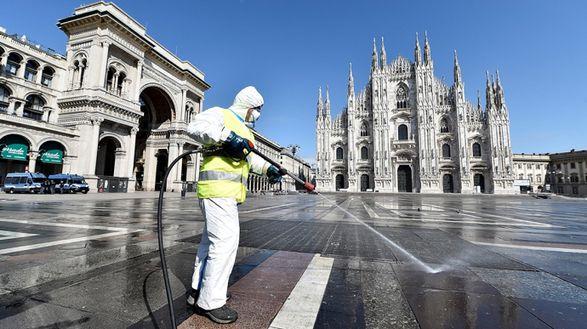 Италия вводит общенациональный локдаун на Пасху