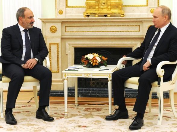 Пашинян предложил Путину идею строительство Россией еще одной АЭС на территории Армении