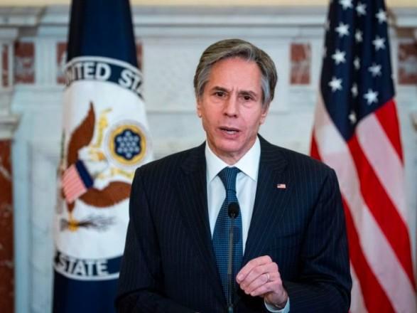 Госсекретарь США на следующей неделе встретится с партнерами по НАТО из-за войск РФ на границе с Украиной - Bloomberg