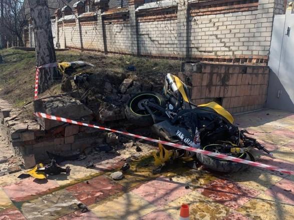 В Харькове мотоциклист попал в ДТП: транспорт разыскивает киевская полиция