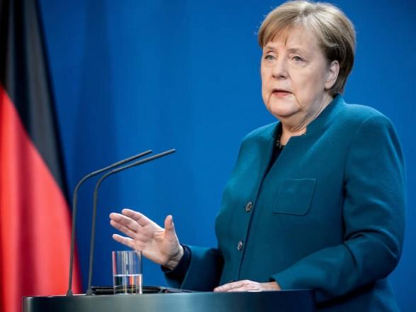Ангела Меркель отменила свою запись на вакцинацию