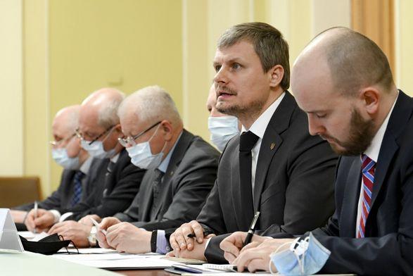 В ОПе состоялась встреча с Группой стратегических советников НАТО из-за обострения ситуации на Донбассе