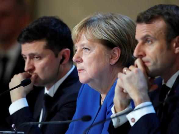 Зеленский, Меркель и Макрон призвали Россию отвести войска от украинской границы