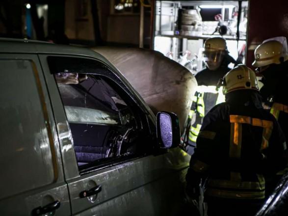 В Киеве за ночь четыре раза горели автомобили