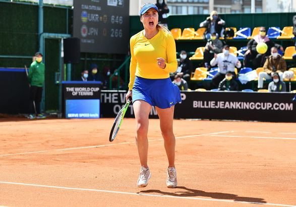 Женская сборная Украины по теннису выиграла матч Кубка Билли Джин Кинг в команды Японии