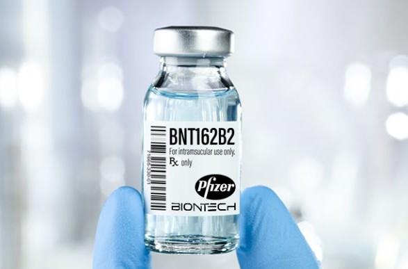 Прививание вакциной Pfizer начнется с Киевской области
