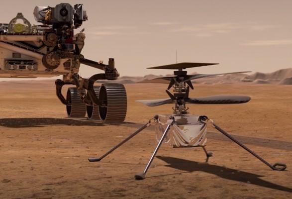 NASA: первый испытательный полет вертолета на Марсе намечен на 19 апреля
