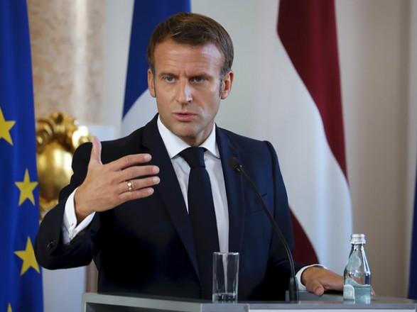 Макрон: Запад не согласится с новыми военными операциями на украинской территории
