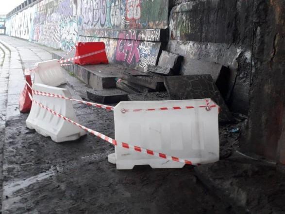 Пострадал не мост Метро, а набережная: в Киевавтодоре объяснили, где произошел обвал