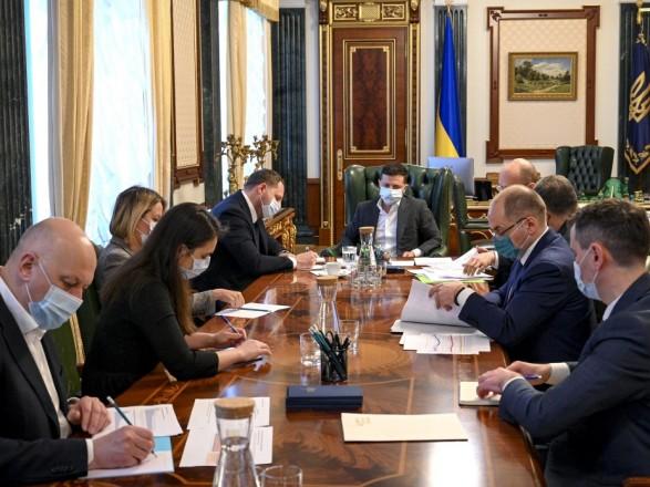Зеленский: в Украине планируют создать самую современную лабораторию для разработки вакцин