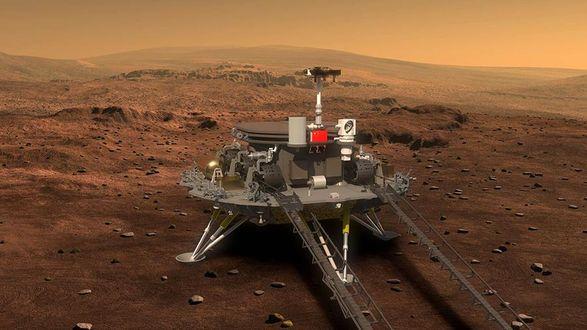 Китай назвал свой первый марсоход в честь бога огня
