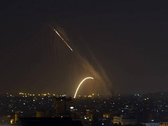 Сектор Газа снова атаковал ракетами территории Израиля
