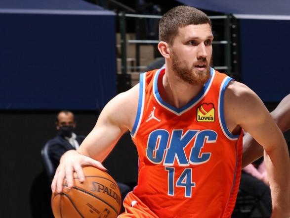 """Михайлюк помог """"Оклахоме"""" прервать серию поражений в НБА"""