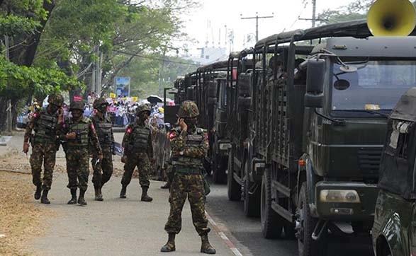 В Мьянме развернулись боевые действия