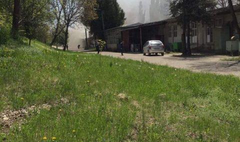 В Болгарии загорелся склад завода оружия