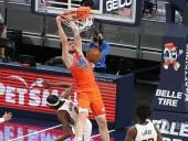 Украинский баскетболист провел результативное выступление в матче НБА