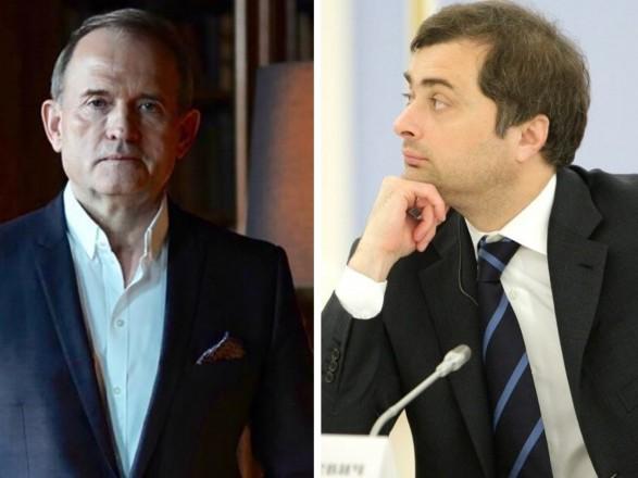 Медведчук в 2014 году обсуждал с Сурковым его участие в ТКГ – в сеть слили новую запись разговора кума и советника Путина
