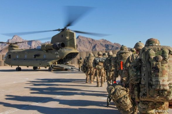 США и НАТО начали формальный вывод войск из Афганистана