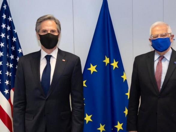 Боррелий и Блинкен обсудили события вокруг Украины
