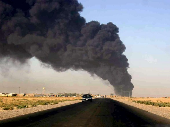 В Ираке атаковали нефтяное месторождение, есть погибшие и раненые