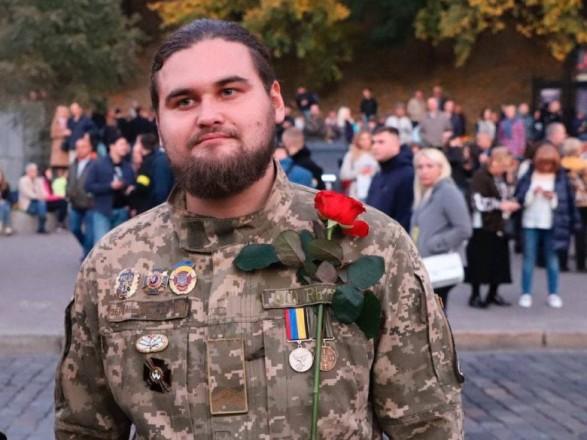 Суд оштрафовал участника протеста под Офисом президента Влада Сорда за хранение ордена Богдана Хмельницкого