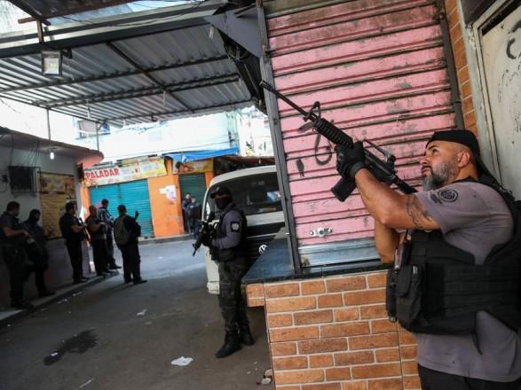 Перестрелка в Рио-де-Жанейро: число погибших возросло до 25