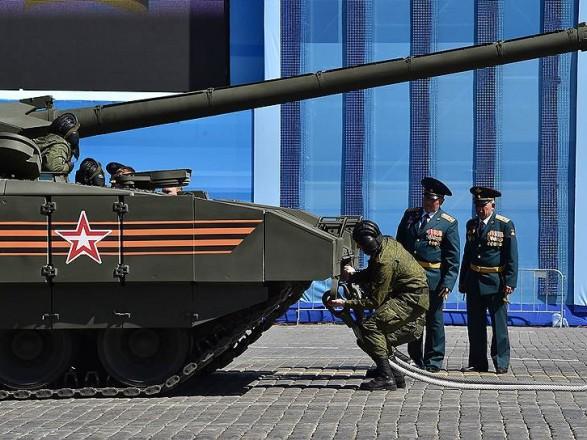 В Москве во время репетиции парада ко Дню Победы задержали четверых человек