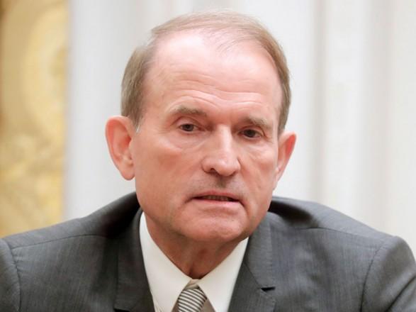 Вручили копию подозрения: Медведчук вышел из Офиса генпрокурора